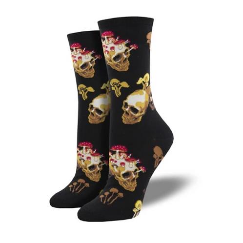 """Women's """"Bone Heads"""" Socks"""