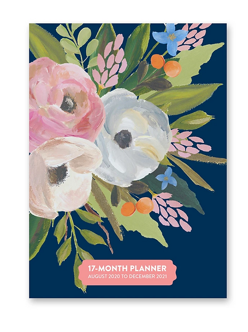 Bella Flora 2021 Take Me With You Planner (17 month)