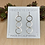 Thumbnail: Geometric Threaders Small Circle Earrings