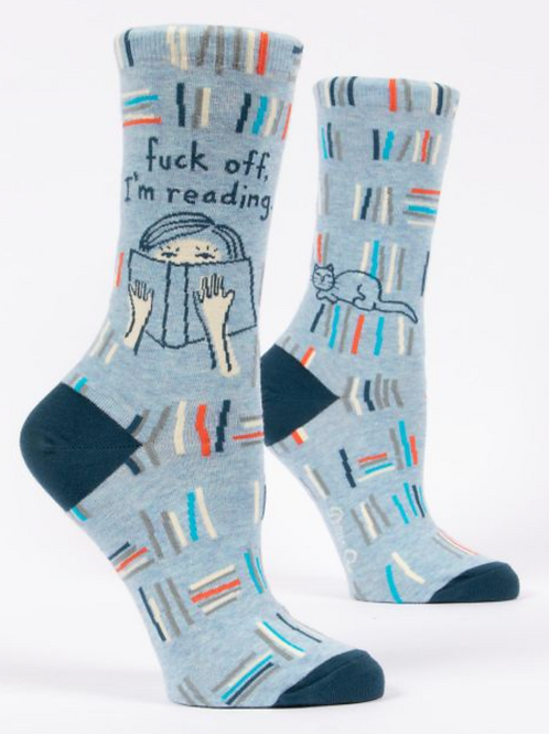 F*** Off, I'm Reading Women's Socks