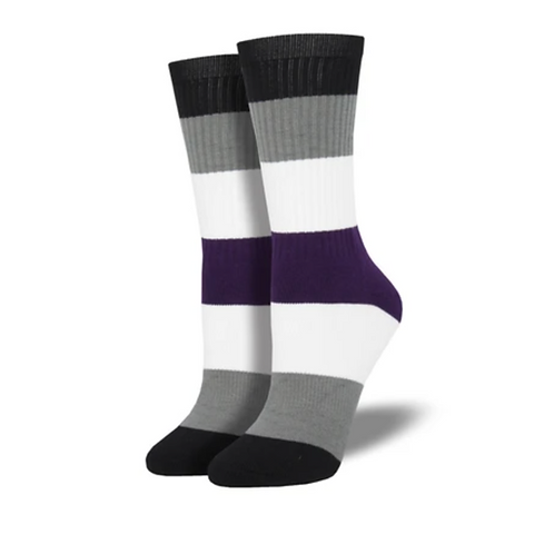 Ace Pride Socks - 2 Sizes