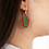 Thumbnail: Moss Guadalupe Hoops Teal/orange/gold