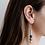 Thumbnail: Stacked Clay Beaded Earrings