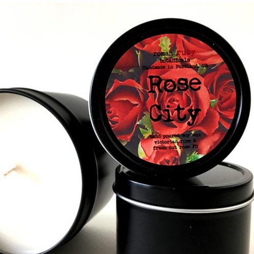 Rose City Soy Candle