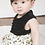 Thumbnail: Pudgy Pineapple Dress + Diaper Cover - Magnetic