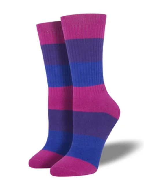 Bi Pride Socks - 2 Sizes