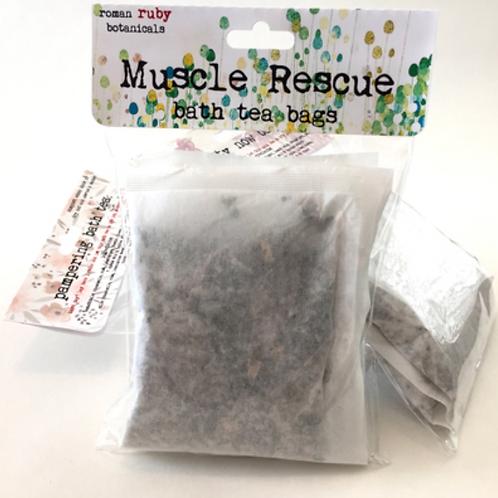 Muscle Rescue Bath Tea Bags