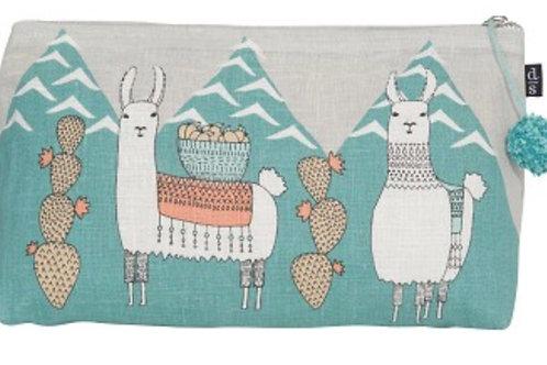 Llama Large Cosmetic Bag