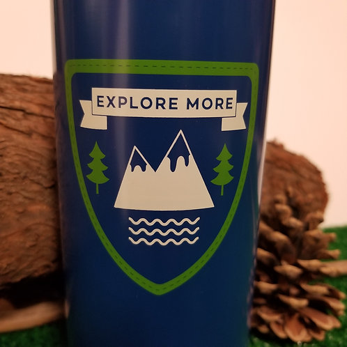 Explore More Water Bottle