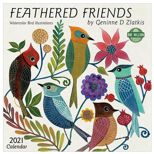 Feathered Friends Wall Calendar