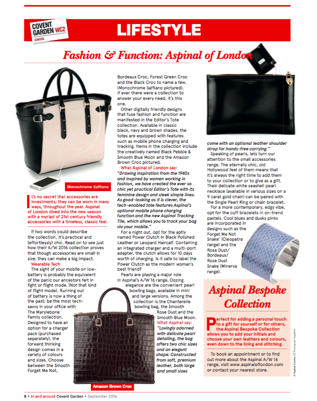 In & Around Covent Garden Magazine