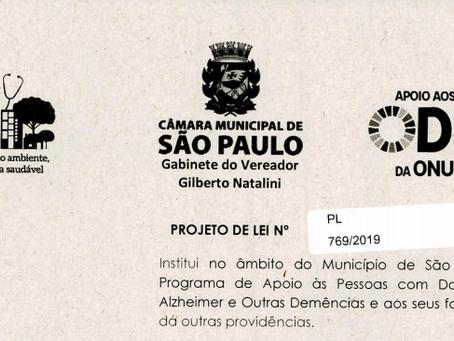 Projeto de Lei Alzheimer