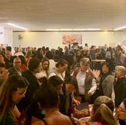 Público lotou o Teatro Gazeta