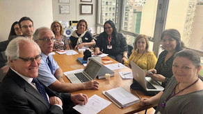 Reunião presencial do Projeto de Lei Alzheimer