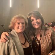 Sandra Gomes, da Secretaria de Direitos Humanos, e Lina Menezes (Tudo sobre Alzheimer)
