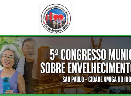 V Congresso Envelhecimento Ativo inicia em São Paulo!