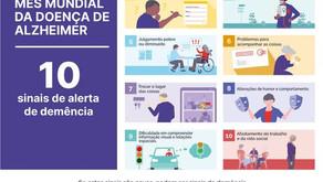 10 sinais de alerta de demência!