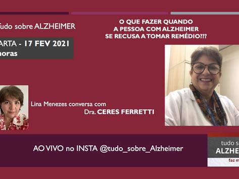 Live: Alzheimer no instagram com Ceres Eloah Ferretti