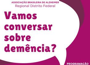 ABRAz Regional DF faz encontro no mês do Alzheimer