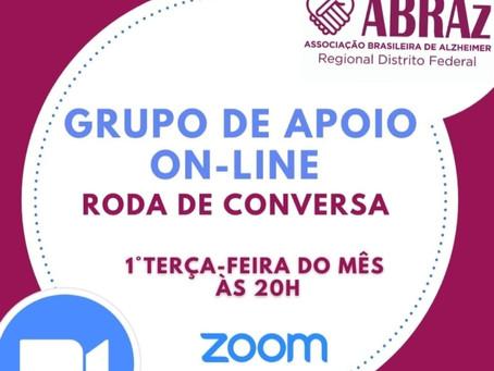 Grupo de Apoio online ABRAz-DF