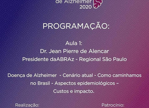 III Jornada Paulista de Alzheimer 2020 da ABRAzSP