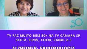 TV: Epidemiologia no universo da Doença de Alzheimer