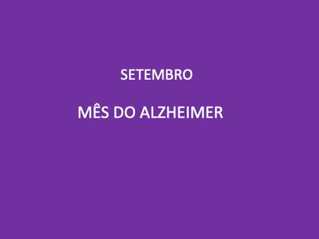 Quebra de estigmas e tabus: mês institucional para conscientização da Doença de Alzheimer
