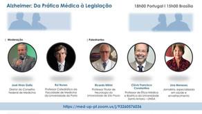 GRAZ fala da Lei Alzheimer de SP para medicina de Portugal!