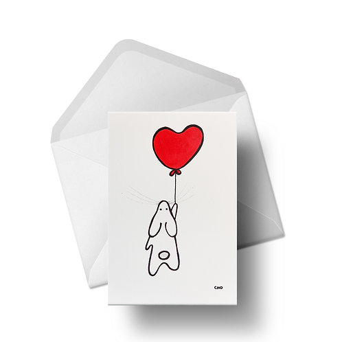 Love bunny | Greeting Card