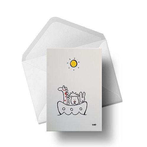 CHO's Ark   Greeting Card