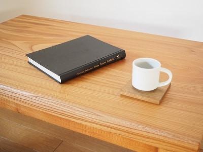 欅一枚板のローテーブル