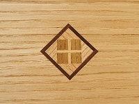 寄木細工による装飾