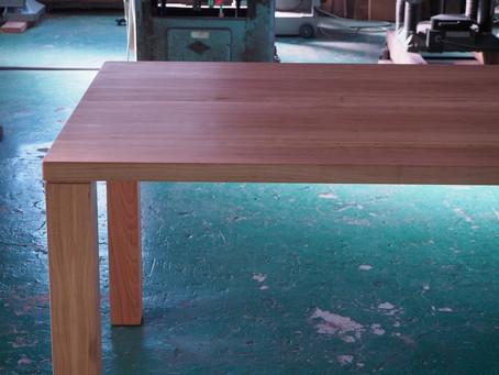 山桜のダイニングテーブル T-7