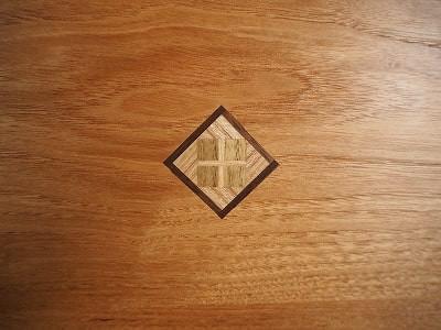 寄木の装飾