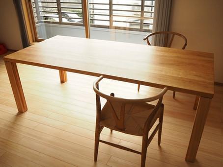 山桜のダイニングテーブル T-3