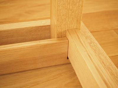 ちゃぶ台の脚の固定方法