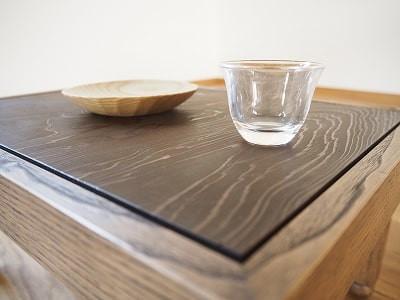 酒卓として使える豆ちゃぶ(豆ちゃぶ台、豆卓子)
