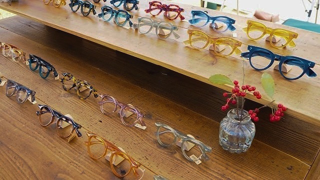 澤口眼鏡舎様の出店風景