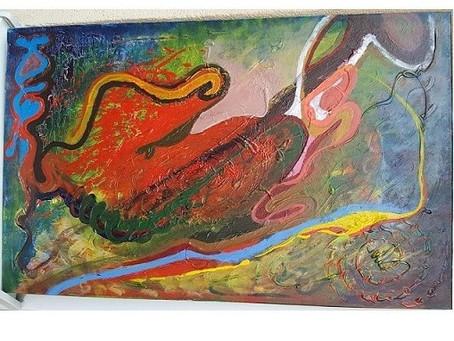 """""""Związki szamańskie""""-różne oblicza i proces transformacji razem z Vedic Art i malowaniem intuicyjnym"""