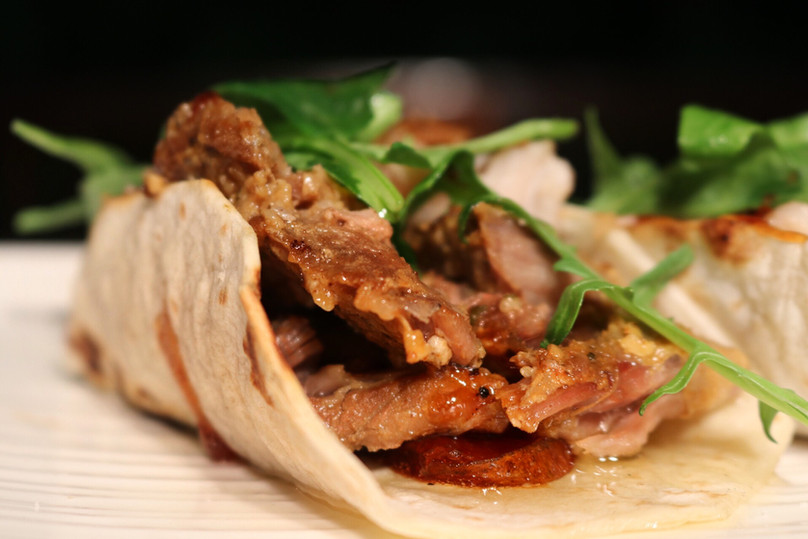 Pork Belly Confit Tacos