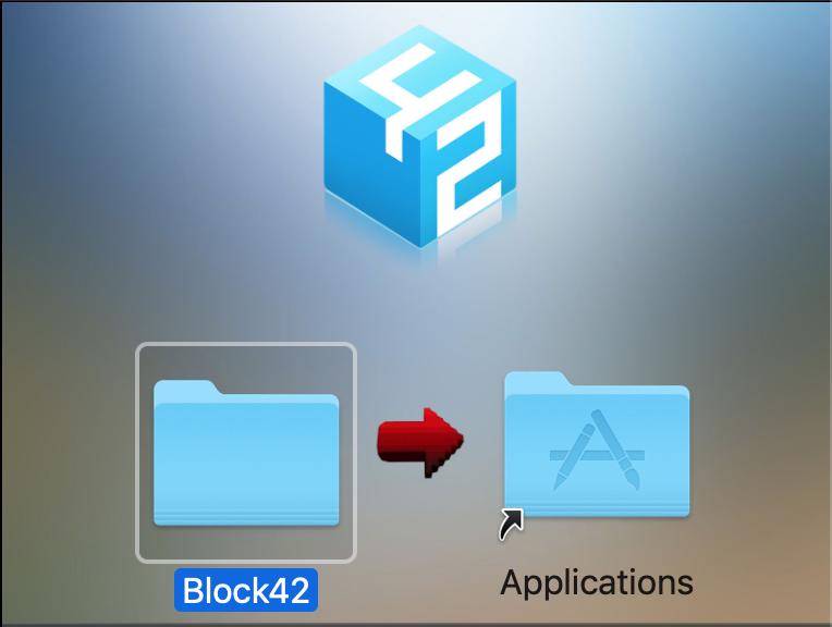 Block42 Mac Install Screenshot 1