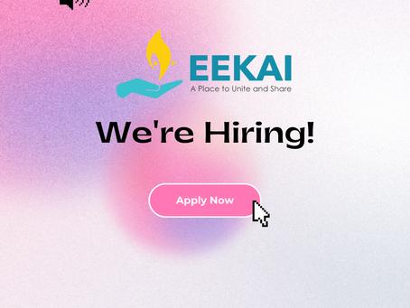 Eekai Foundation part-time employment opportunity