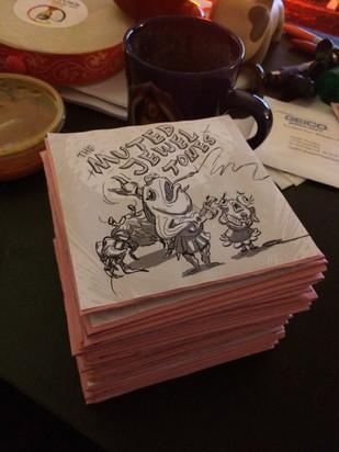 First Batch of CDs!