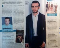 Entrevista revista Telenovelas