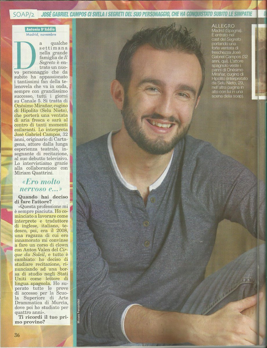 ENTREVISTA REVISTA ITALIANA TOP 2/4