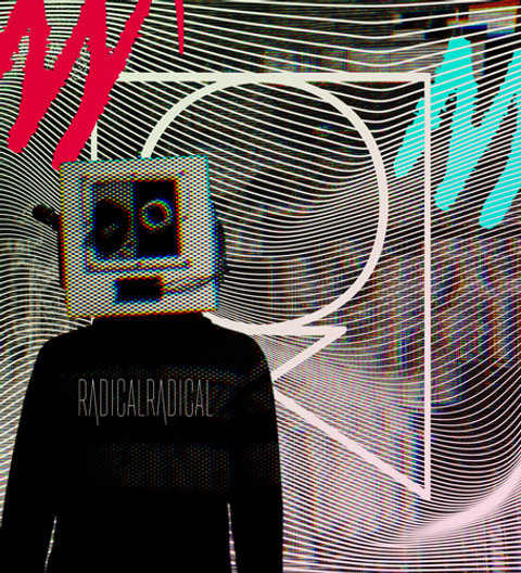 Misfits Holographic Sticker
