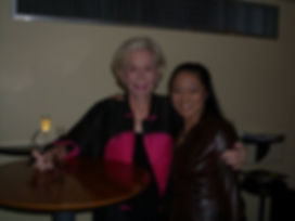 Here I am with the legendary Louise Hay