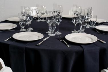 Black Table + Black Napkins