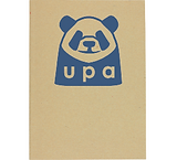 Recycled Paper A4 Folder - Sample Logo Photo Back