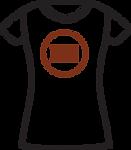 02-01.7 Womens T-shirt - Logo Placement